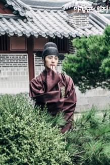 Jung II-woo in The Night Watchman's Journal Ep 5 BTS 3