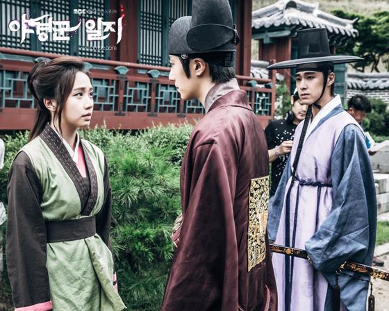 Jung II-woo in The Night Watchman's Journal Ep 5 BTS 7
