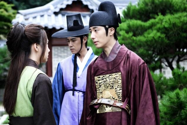 Jung II-woo in the Night Watchman's Journal Episode 5 BTS Cr. MBC 28