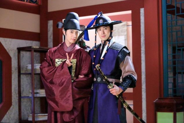 Jung II-woo in the Night Watchman's Journal Episode 5 BTS Cr. MBC 3