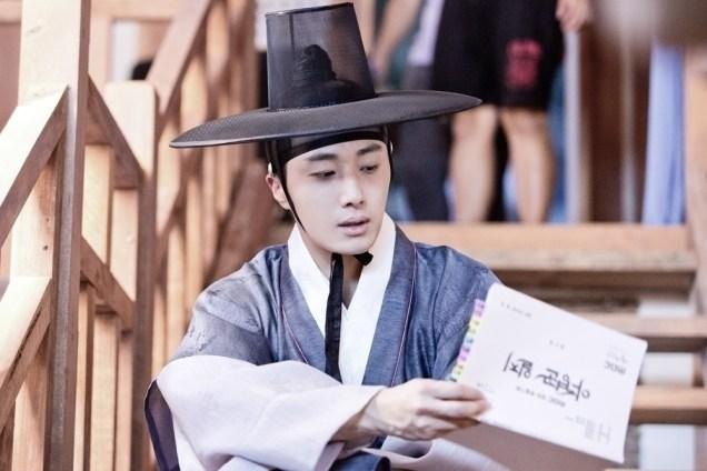 Jung II-woo in the Night Watchman's Journal Episode 8 BTS Part 2 Cr. jungilwoo.com 11