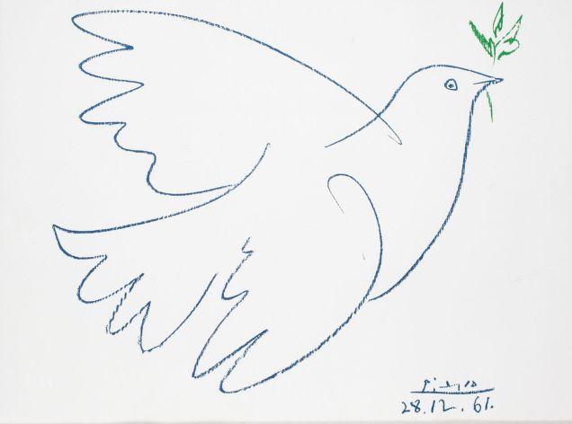 Peace Dove. Picasso
