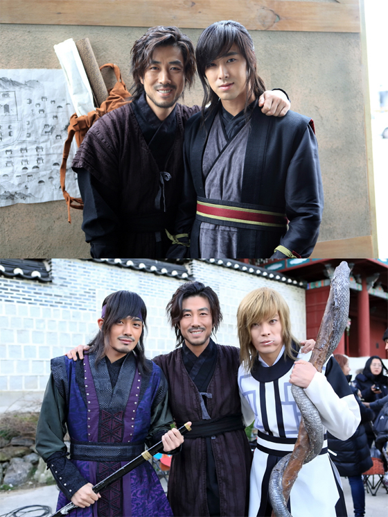 2014 10 21 Jung Il-woo on his last day of filming The Night Watchman's Journal. 3.jpg