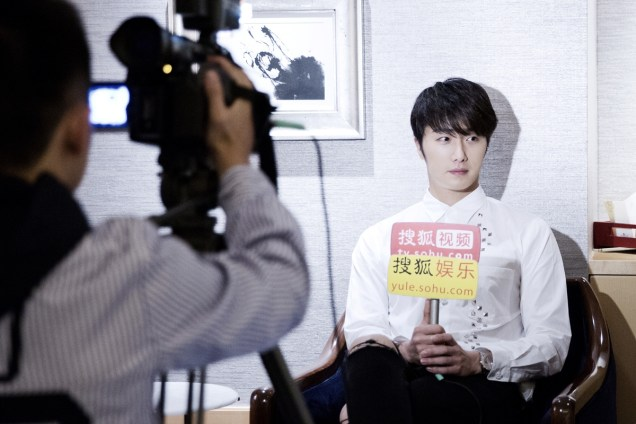 2014 10 29 Jung Il-woo at the Beauty Cosmo Awards in Shanghai, China. Interview 2 12