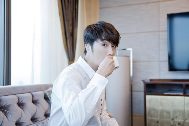 2014 10 29 Jung Il-woo at the Beauty Cosmo Awards in Shanghai, China. Interview 2 2
