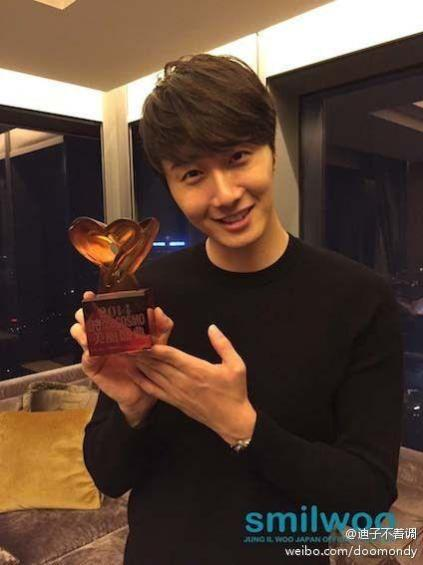 2014 10 29 Jung Il-woo at the Beauty Cosmo Awards in Shanghai, China. JIW Social Media Posts and others 3