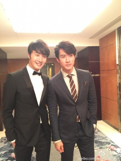 2014 10 29 Jung Il-woo at the Beauty Cosmo Awards in Shanghai, China. JIW Social Media Posts and others 6