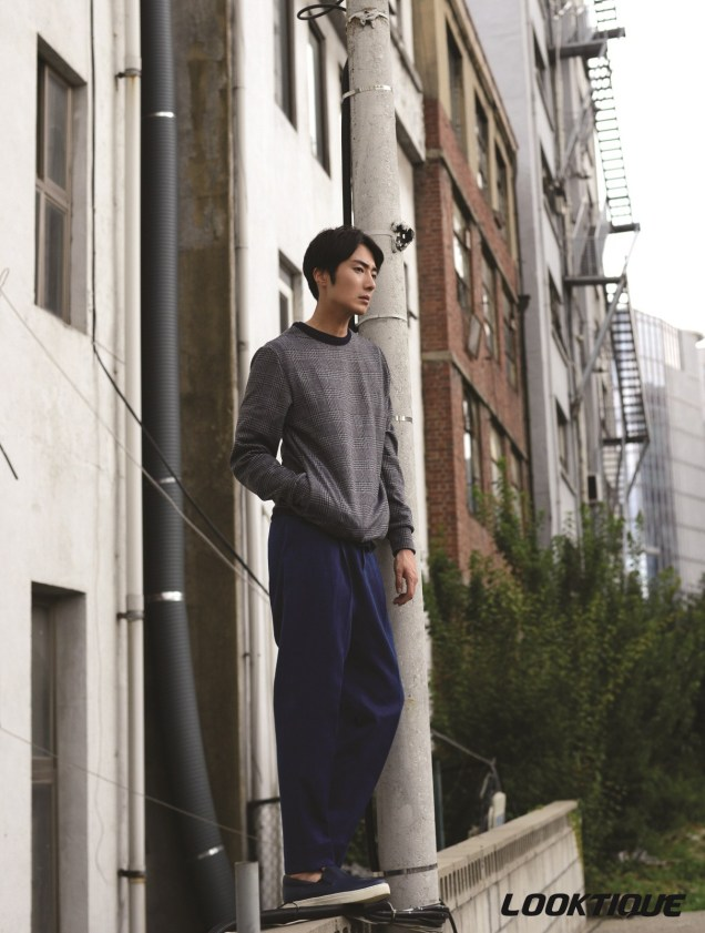2014 10 31 Jung Il-woo in Looktique Magazine 2