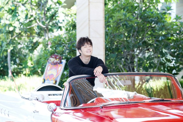2014 10:11 Jung Il-woo in Bali for BNT International Part 1: Cars 11