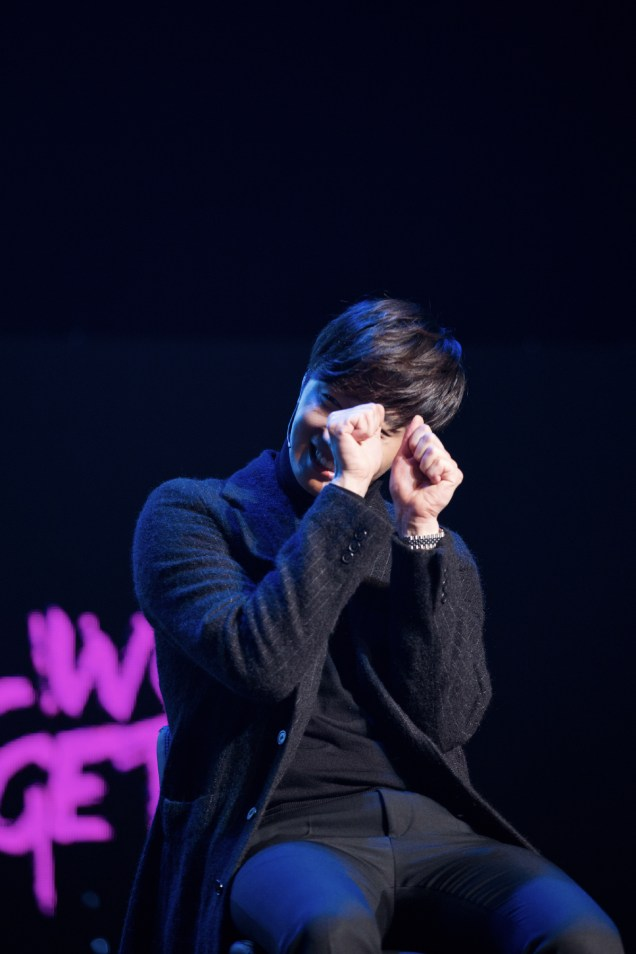 2014 11 22 Jung II-woo in his Fourth Korean Fan Meet. Cr.jungilwoo.com 56