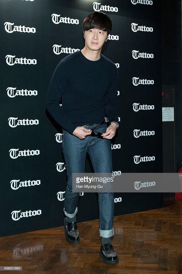 2014 11 25 Jung II-woo for Tattoo Eyewear. Cr. On Photos 18