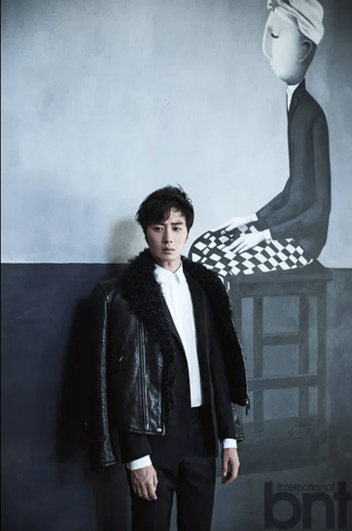 2014 11 Jung Il-woo in Bali Photo Shoot for BNT International. More with Logo 32