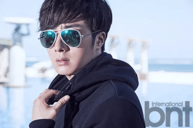 2014 11 Jung Il-woo in Bali Photo Shoot for BNT International. More with Logo 39