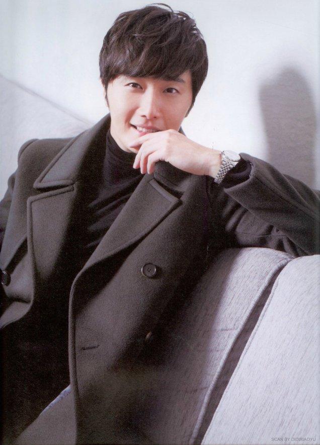 2014 Jung Il-woo in Riveriver Magazine Vol.05 2