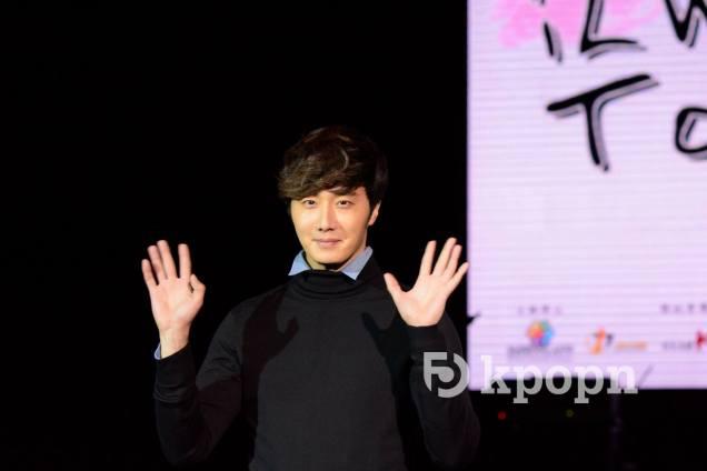 2015 1 10 Jung Il-woo Taiwan Press Conference. 2