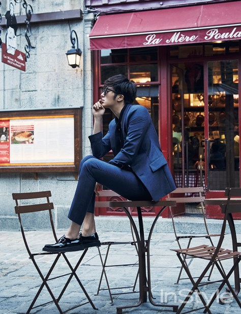 2015 3 Jung Il-woo at Mont Saint Michel for Style magazine Photo Shoot 3