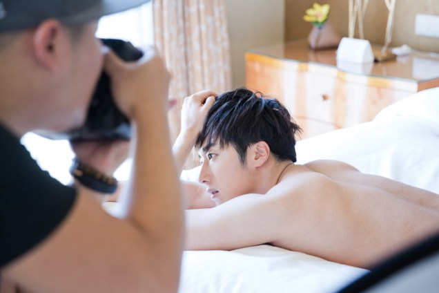 22014 10:11 Jung Il-woo in Bali for BNT International Part 2: In Bed Cr.BNT International5