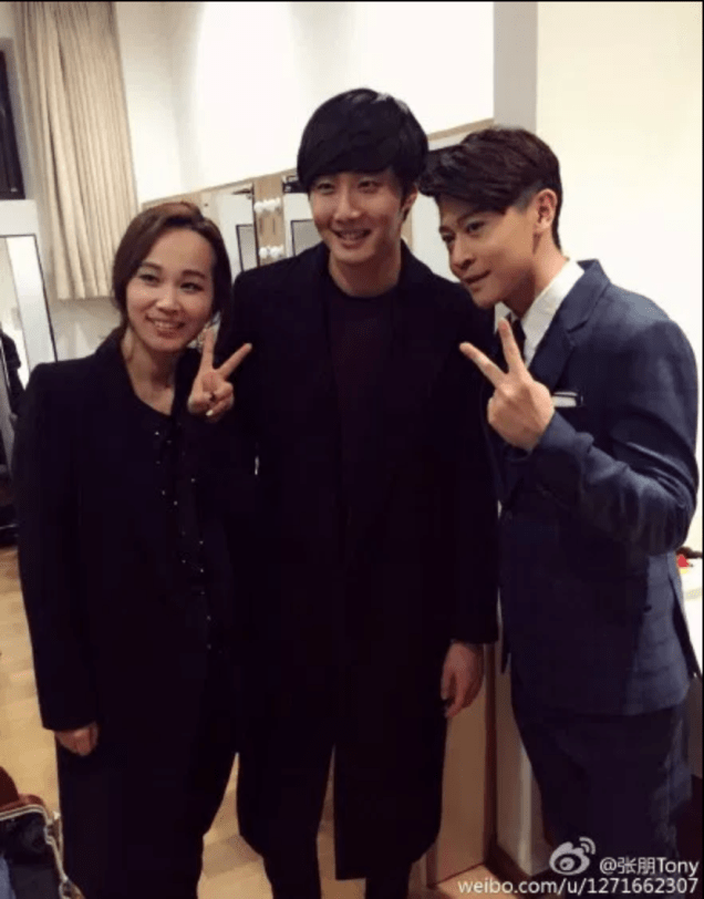 2015 2 1 Jung Il-woo at the Beijing Fan Meeting. Back Stage B