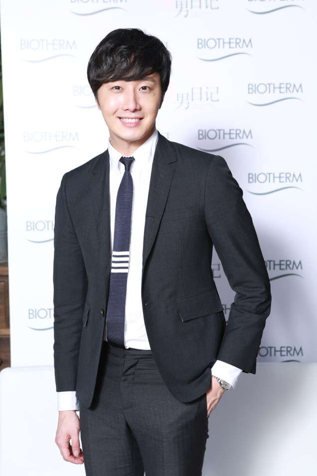 2015 3 20 Jung Il-woo at a Biotherm Event in Beijing, China. 29