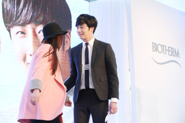 2015 3 20 Jung Il-woo at a Biotherm Event in Beijing, China. 40