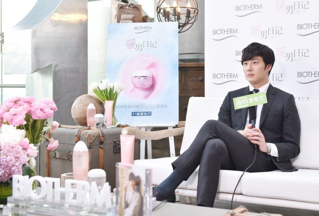 2015 3 20 Jung Il-woo at a Biotherm Event in Beijing, China. 46