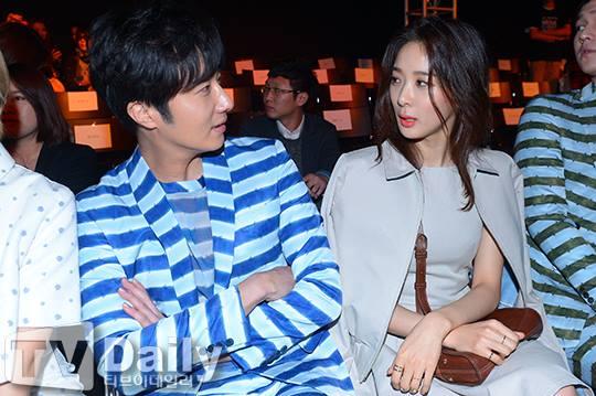 2015 3 21 Jung Il-woo at the Seoul Fashion Week wearing a Hong Hye-jin Design. 26