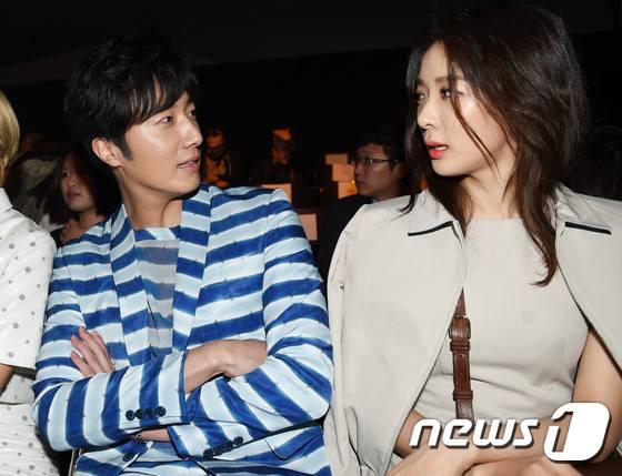 2015 3 21 Jung Il-woo at the Seoul Fashion Week wearing a Hong Hye-jin Design. 28