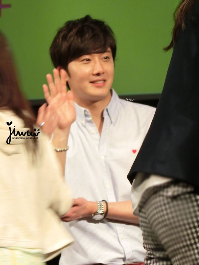 2015 4 25 Jung Il-woo in his Fan Meeting Rainbo-Woo in Tokyo, Japan. Fan Taken. Cr. On them 13