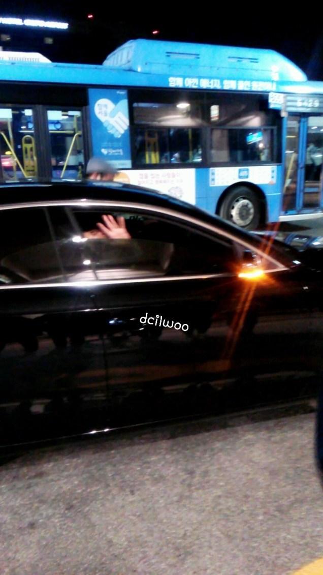 2015 4 25 Jung Il-woo in his Fan Meeting Rainbo-Woo in Tokyo, Japan. Getting back home.1
