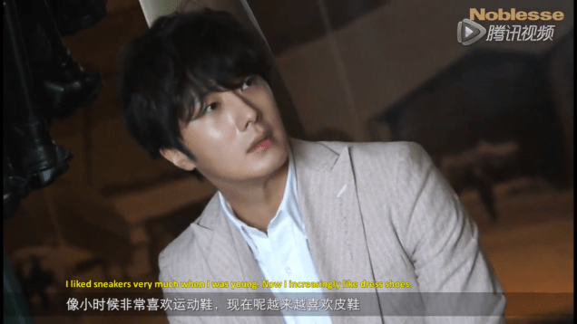 2015 6 5 Jung Il-woo for Noblesse, China. 1