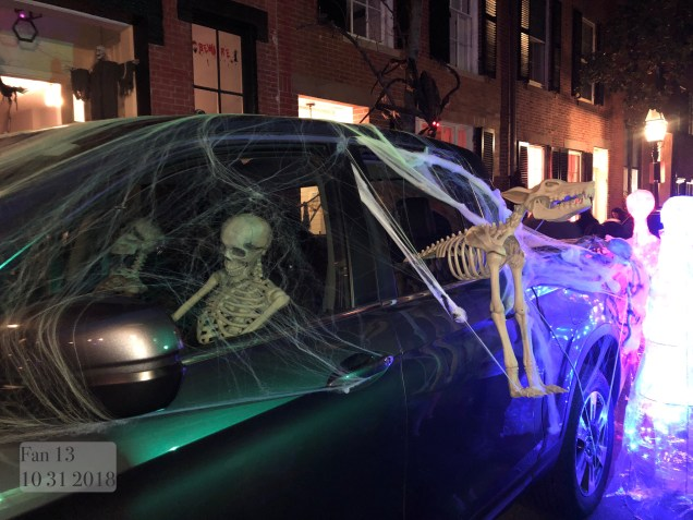 2018 10 31 Halloween at Beacon Hill in Boston, MA. By Fan 13 15
