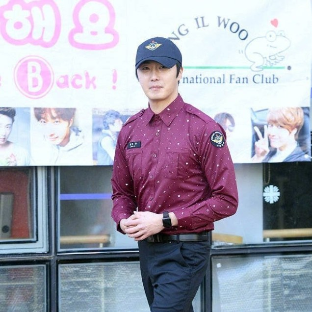 November 30, 2018 Jung il-woo officially completes his Civic:Military duty! 4
