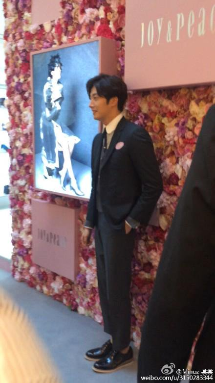 2015 09 16 Jung Il-woo attends the 20th Anniversary of Joy and Peace in Shanghai, China. 10