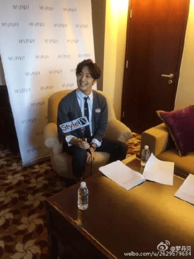 2015 09 16 Jung Il-woo attends the 20th Anniversary of Joy and Peace in Shanghai, China. 58