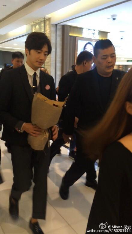 2015 09 16 Jung Il-woo attends the 20th Anniversary of Joy and Peace in Shanghai, China. 7
