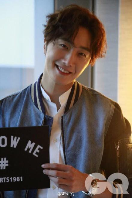 2015 10 13 Jung Il-woo at the Ports 1961 Fashion Show in Shanghai, China.1