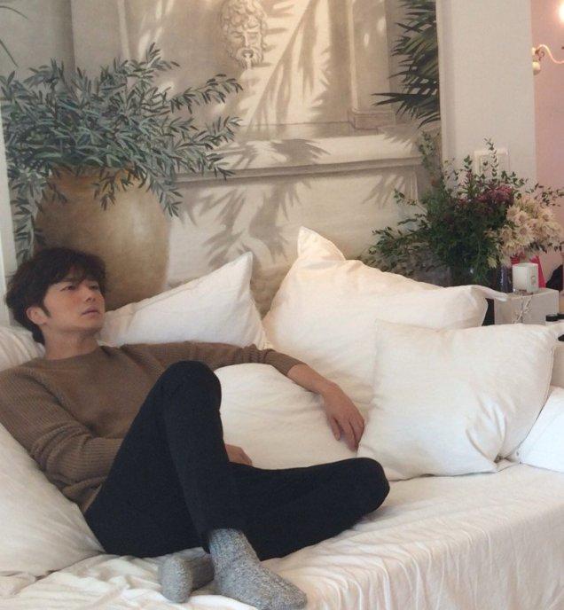 2015 11 Jung Il-woo for W Korea Magazine. 13
