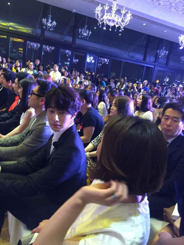 2015 6 10 Jung Il- woo in a Sohu Event 2