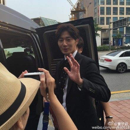 2015 Jung Il-woo in High End Crush BTS Cr. SOHU TV42