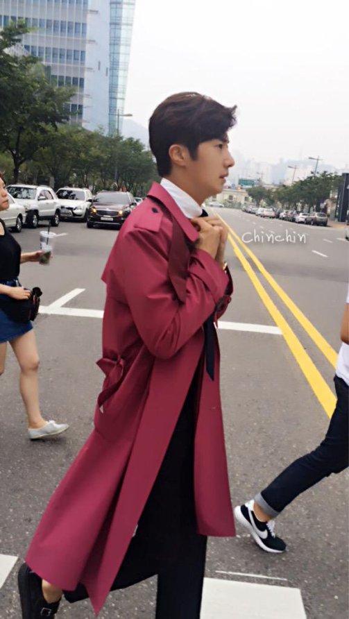 2015 Jung Il-woo in High End Crush BTS Cr. SOHU TV9