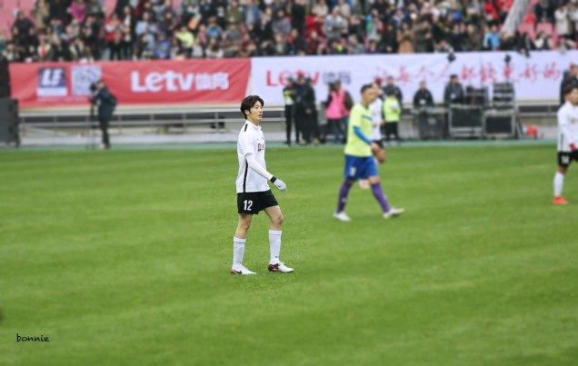 2016 1 10 jung il-woo playing soccer in the 2016 asian smile cup. 102