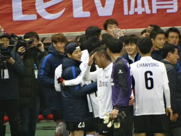 2016 1 10 jung il-woo playing soccer in the 2016 asian smile cup. 23
