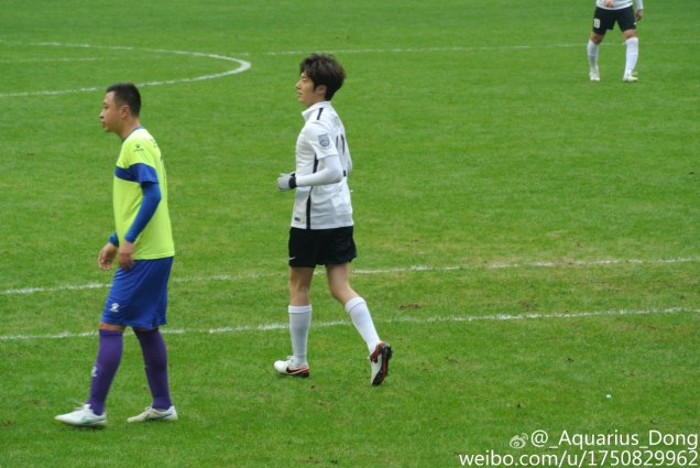 2016 1 10 jung il-woo playing soccer in the 2016 asian smile cup. 3