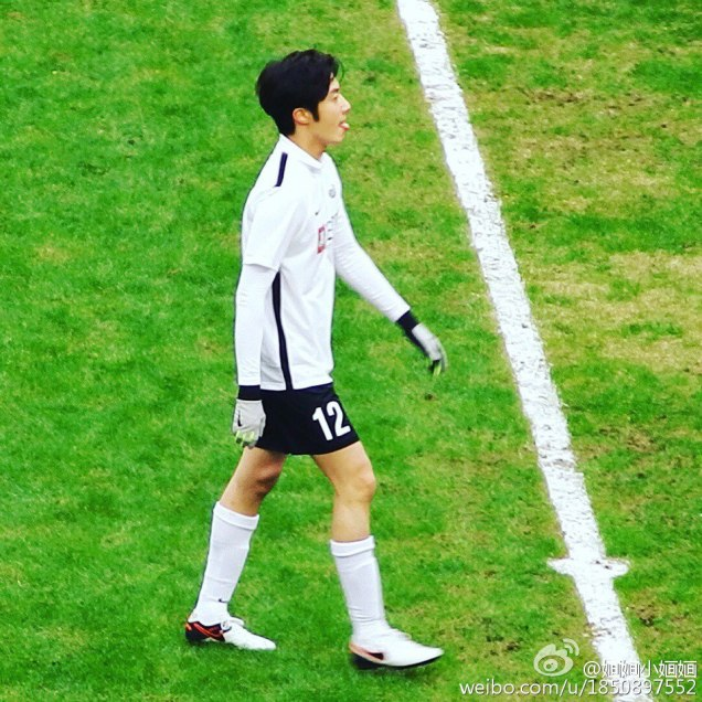 2016 1 10 jung il-woo playing soccer in the 2016 asian smile cup. 74