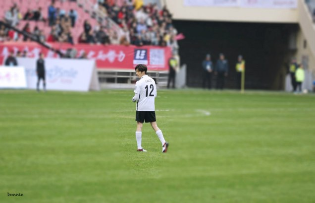 2016 1 10 jung il-woo playing soccer in the 2016 asian smile cup. 77