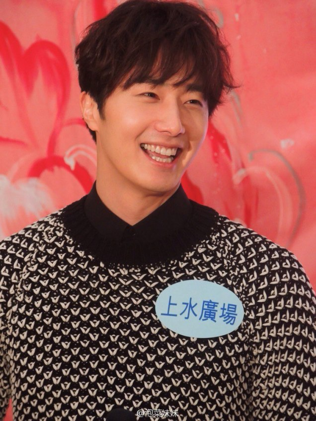 2016 1 23 jung il-woo in hong kong fan meeting extras talking10