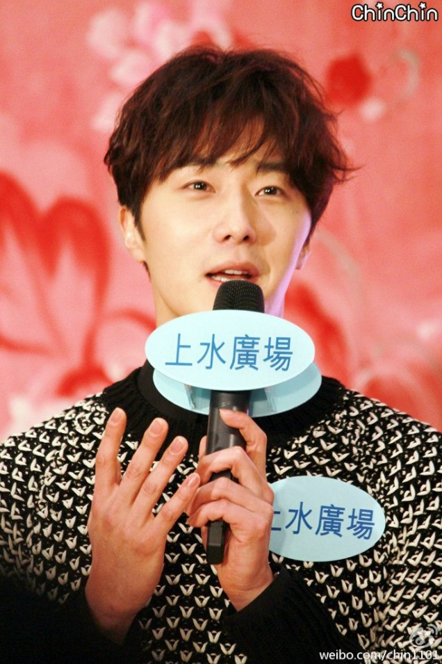 2016 1 23 jung il-woo in hong kong fan meeting extras talking11