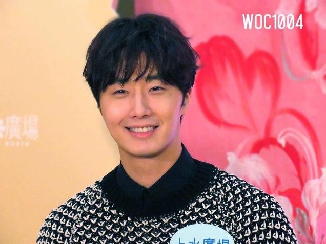 2016 1 23 jung il-woo in hong kong fan meeting extras talking22
