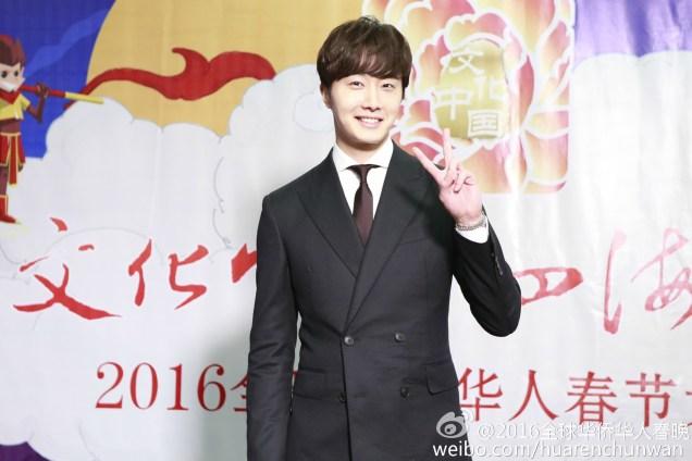 2016 2 8 jung il-woo hunan tv spring gala interview. 2