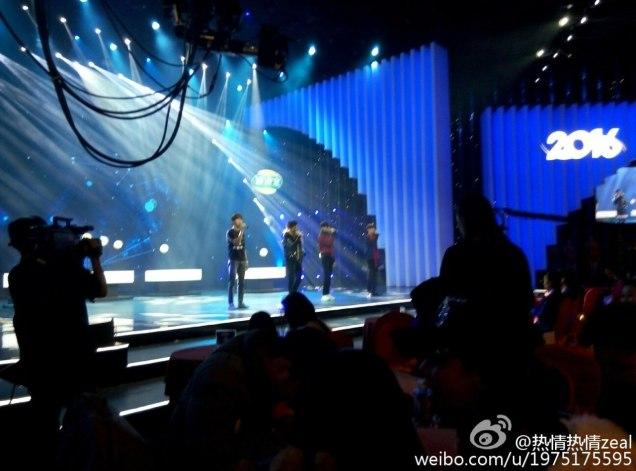 2016 2 8 jung il-woo hunan tv spring gala rehearsal. cr. hunan tv 3